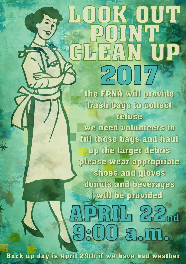 FPNA LookOutPoint Clean Up 2017
